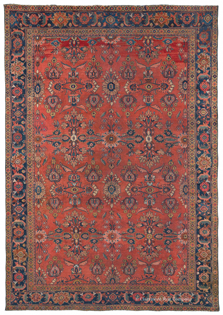 Antique Mahal Rug Guide Claremont Rug Company
