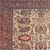 mid Antique Oriental Ferahan Carpet 6-10x10-2