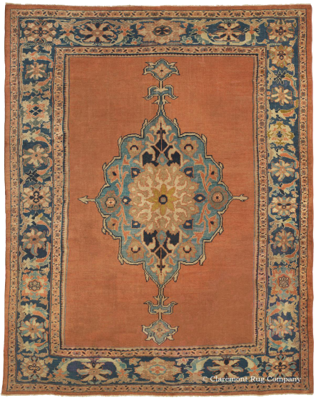 learn more about this west central persian mahal rug