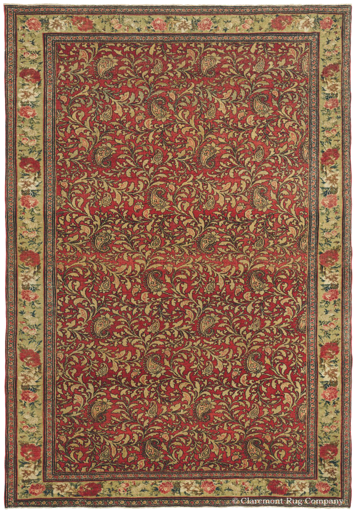 Learn More about this Antique Northwest Persian Halvai Bijar (Bidjar) Rug 4ft 7in x 6ft 7in