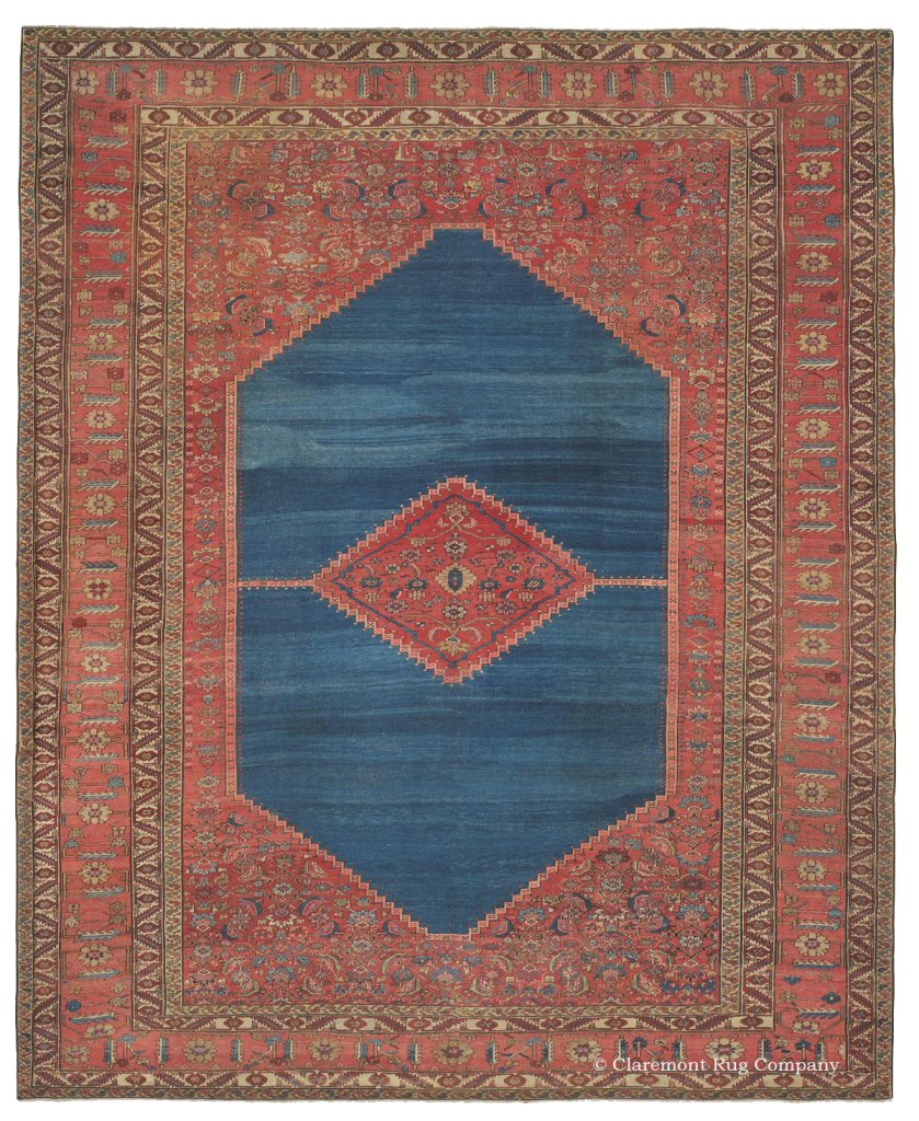 Learn more about this Northwest Persian Bakshaish 19th-Century Rug