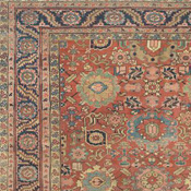 Captivating Antique Heriz, Northwest Persian, 9ft 8in X 13ft 8in, Late 19th Century