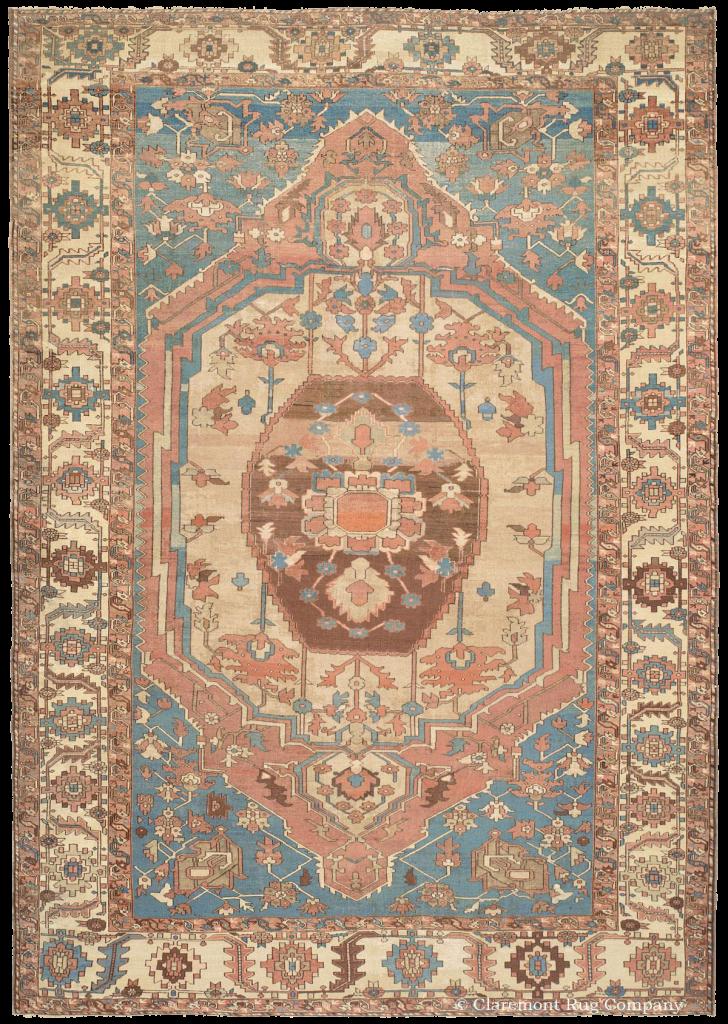 Northwest Persian Serapi Antique Rug