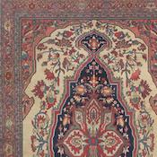Antique Persian Ferahan Sarouk Carpet 4ft 5in x6ft 7in