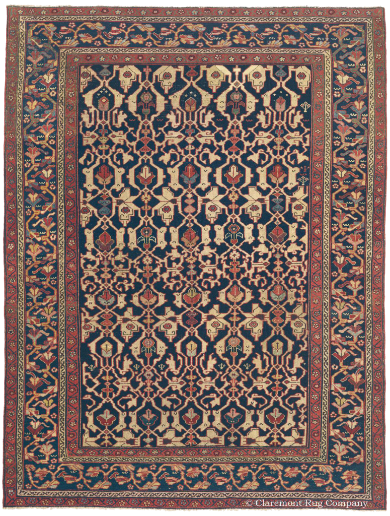 Learn More about this Northwest Persian Rug 5ft 3in x 6ft 10in Circa 1900