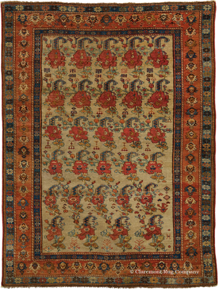 Antique Persian Afshar Rug 3ft 11in by 5ft 1in