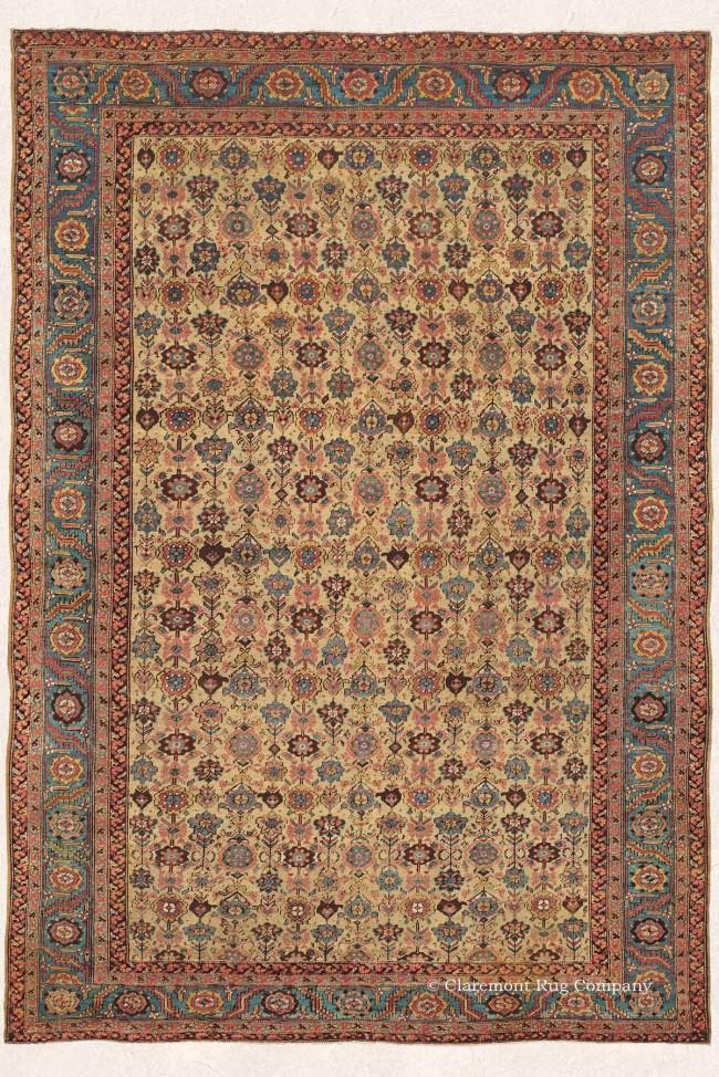 19th Century Antique Bakshaish Rug
