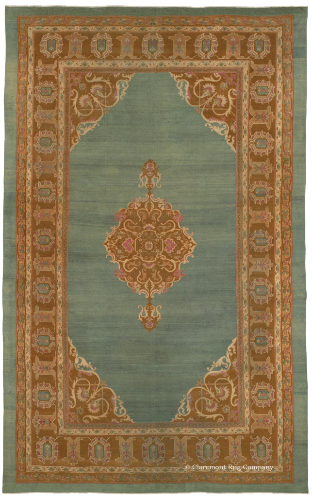 Click to see a larger image of this Agra Carpet