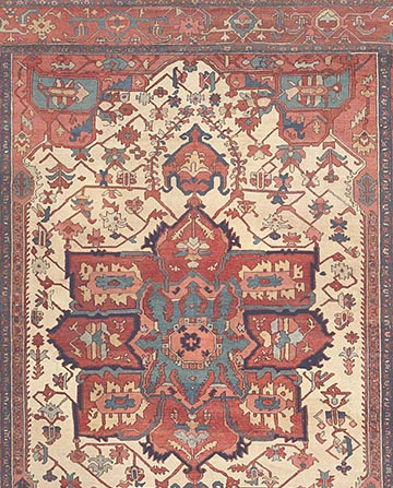Antique-Ivory-Serapi-Persian-Rug