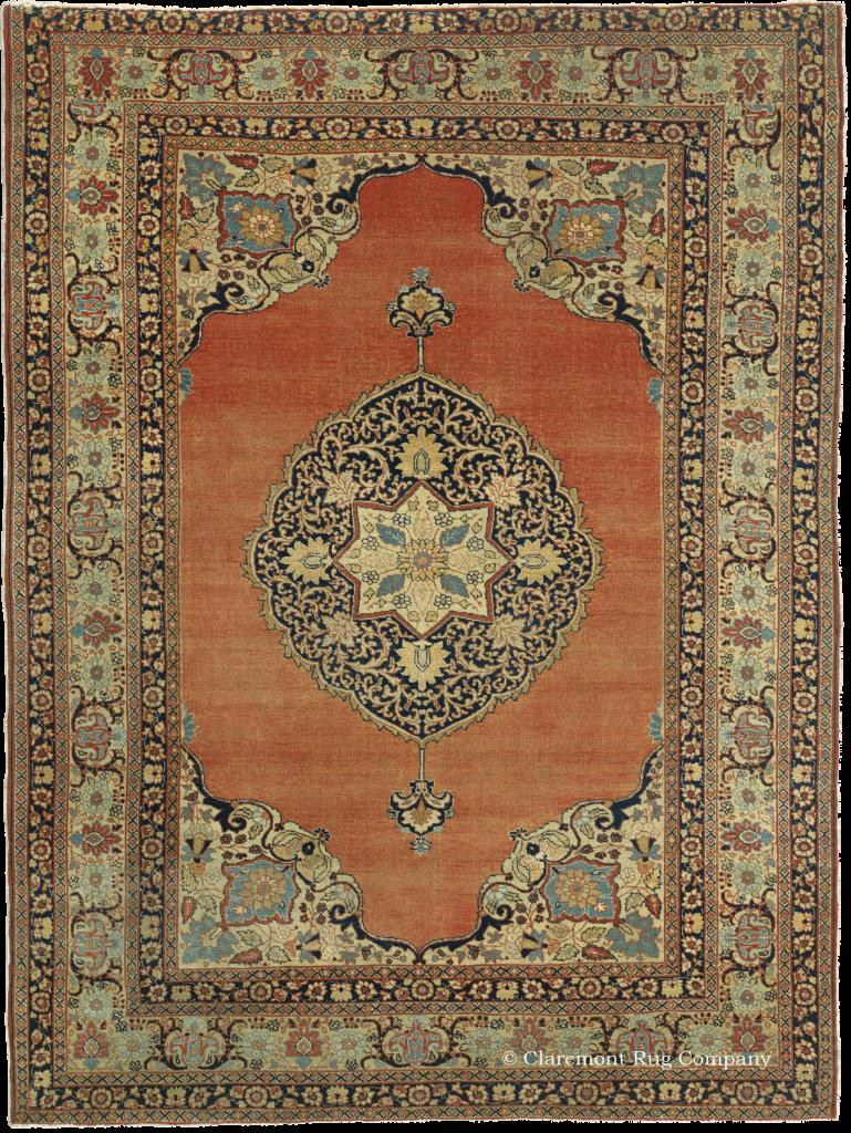 Claremont Rug Company presents a Hadji Jallili Tabriiz rug