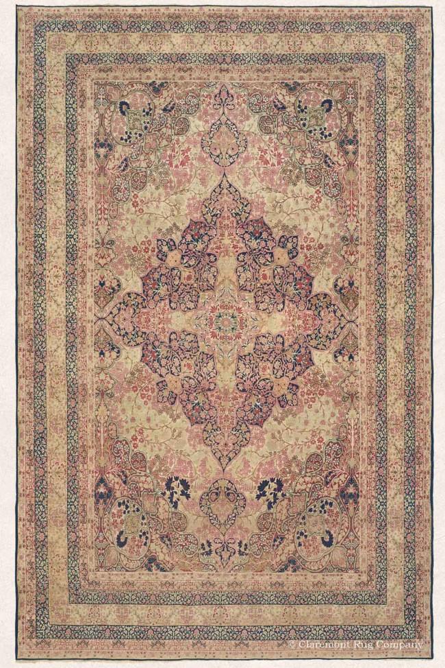 Antique Court Oriental Carpet