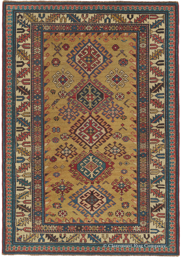Click to learn more about this Northeast Caucasian Daghestan Rug