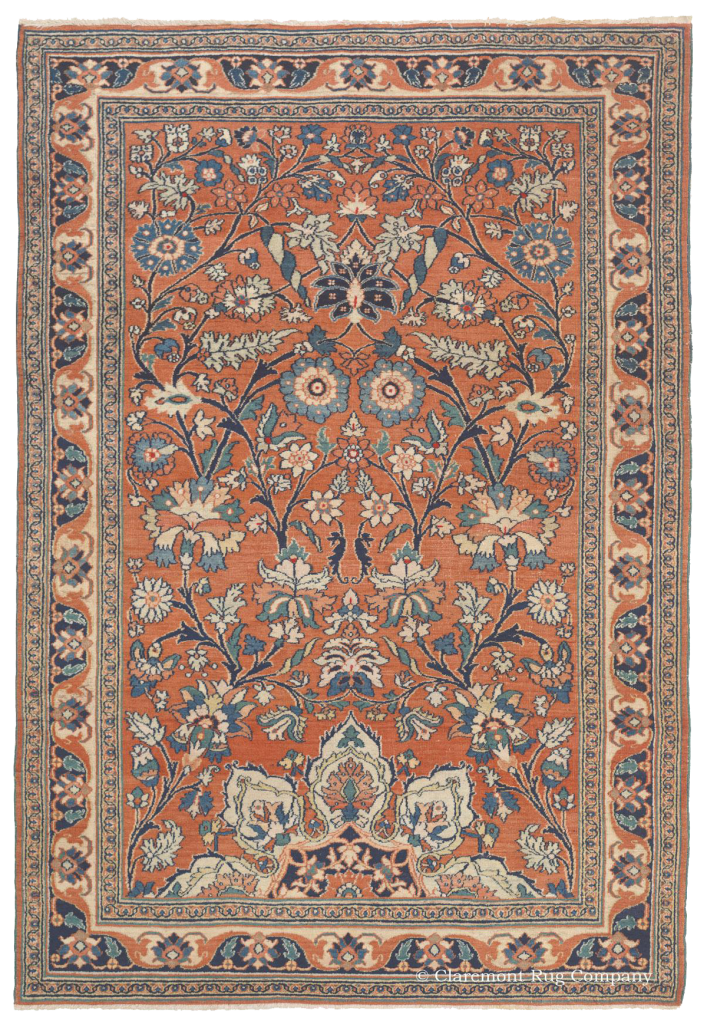 Northeast Persian Dorasht Antique Rug