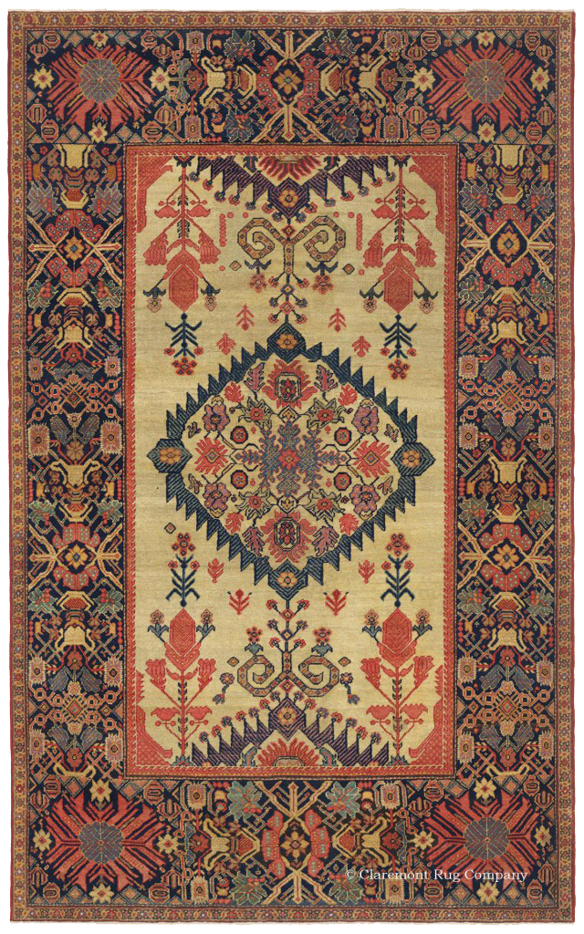 A Tier 5 rug, a Ferahan carpet from the early-19th Century