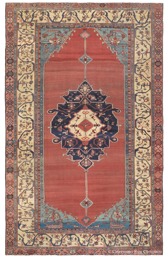 Persian Bakshaish Antique Rug