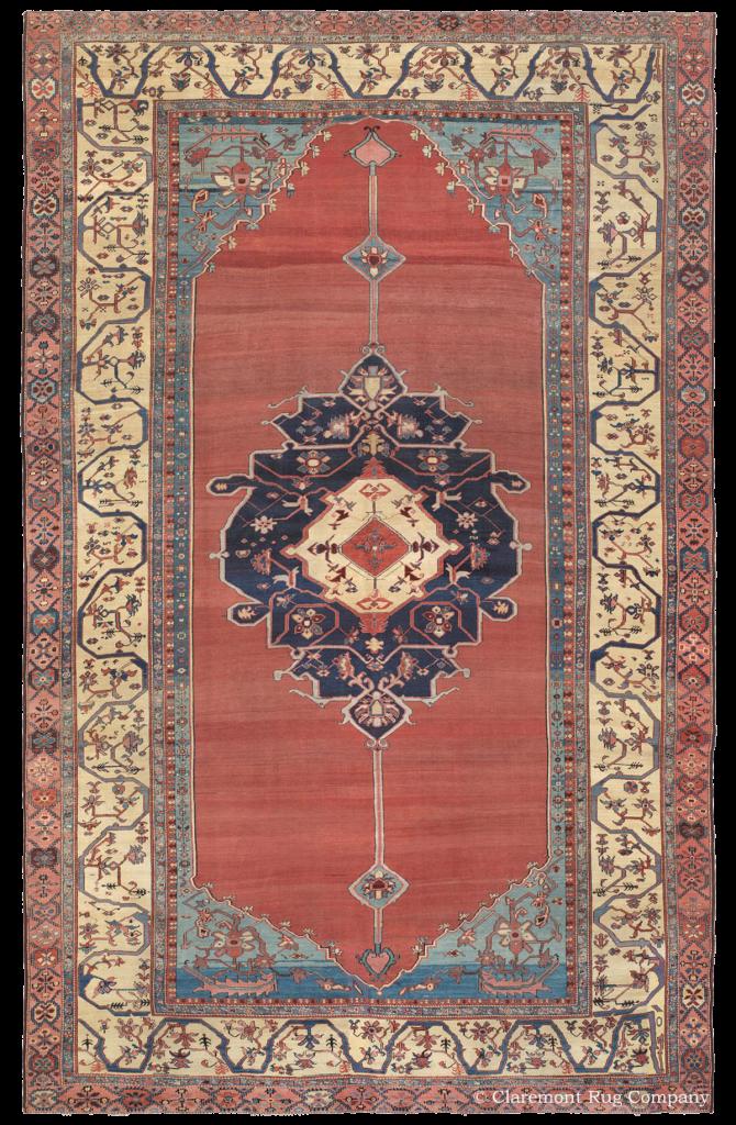 Persian Bakshaish Antique Rug
