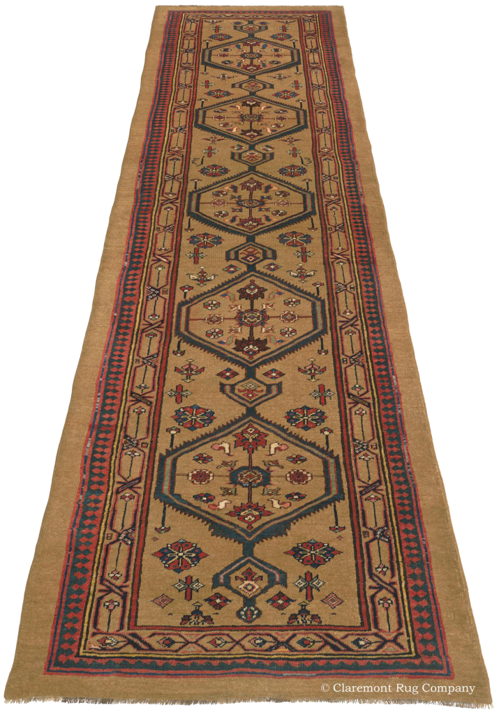 Click to learn more about this Bijar Camelhair Runner