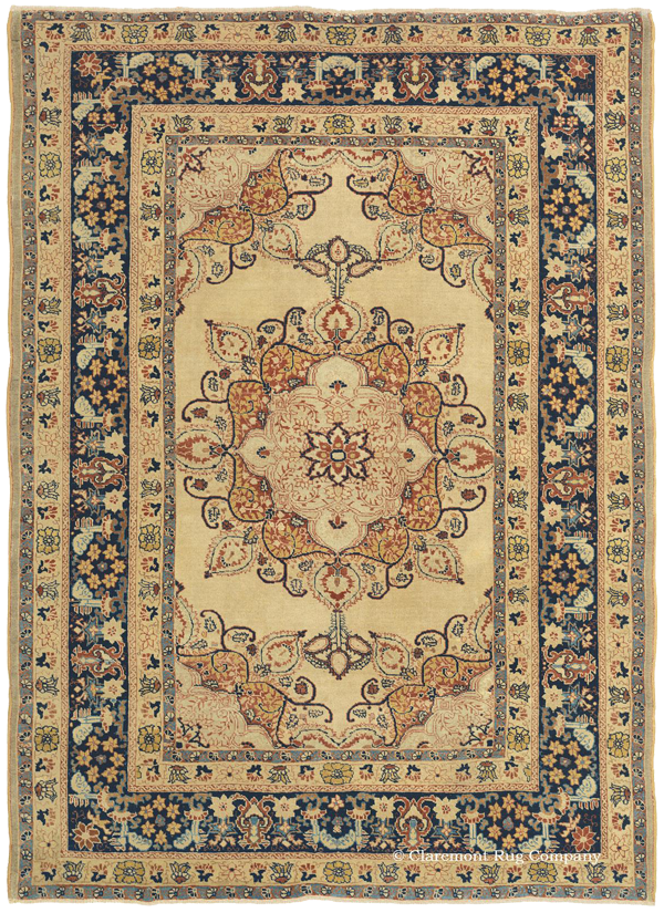 Click to learn more about this stunning Northwest Persian Hadji Jallili Tabriz Rug