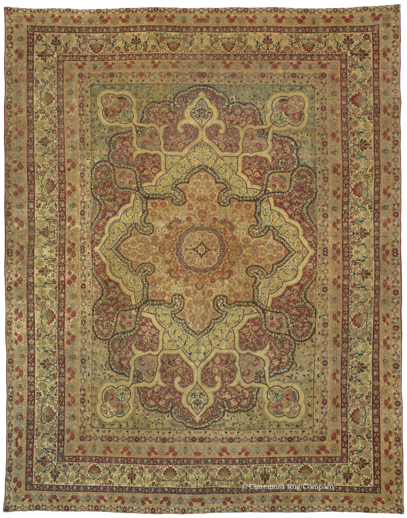 KERMANSHAH, Western Persian 11ft 10in x 15ft 0in Circa 1850