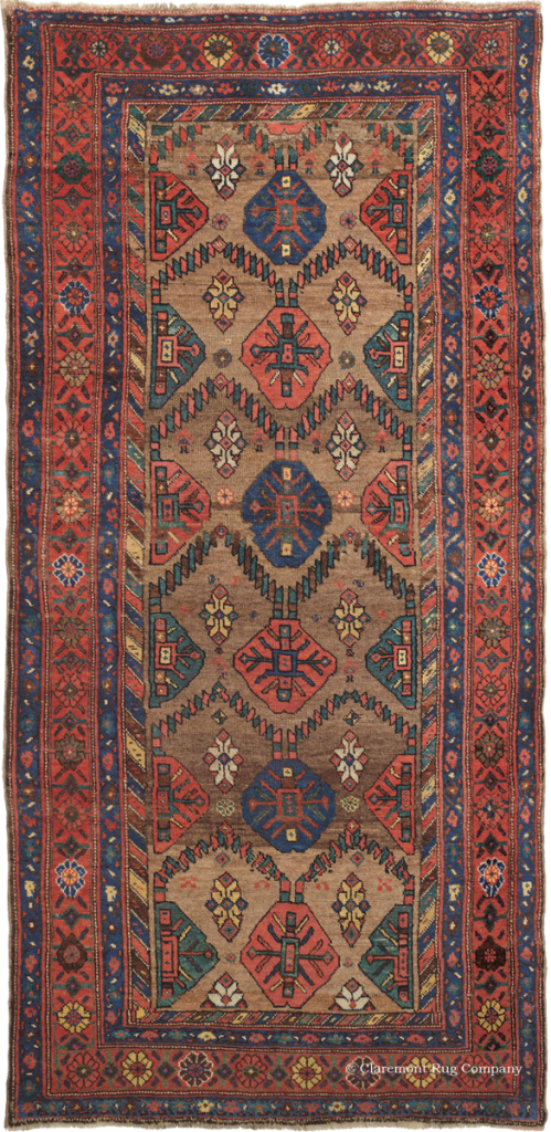 Click for more information about this Kurdish Camelhair rug