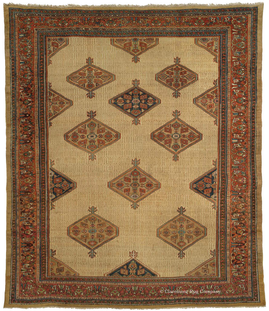 Malayer Camelhair rug, circa 1900