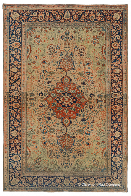 Antique-Persian-Carpet-Motasham-Kashan-4-5x6-7
