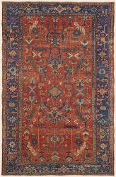 Antique Persian Heriz 8ft 2in x12ft 4in