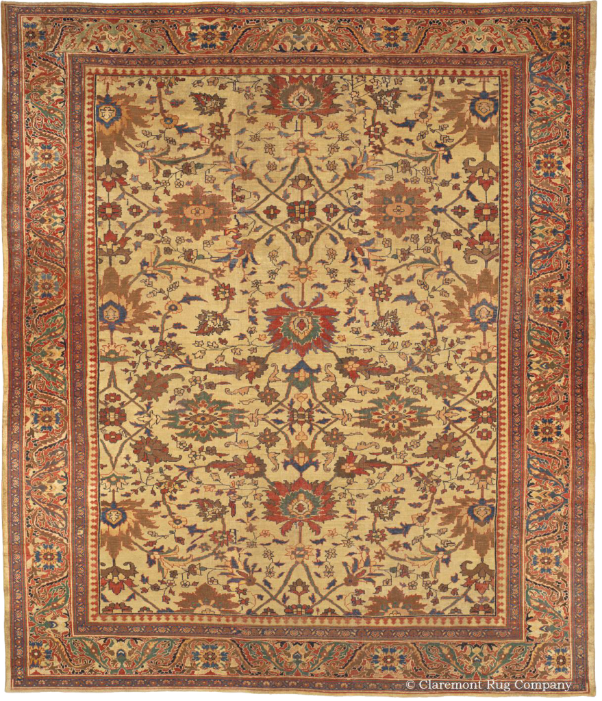 Claremont Rug Company presents a Persian Sultanabad Persian Carpet