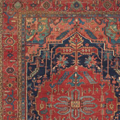 Antique Serapi Heriz, Northwest Persian, 9ft 7in X 13ft 4in, Circa 1900