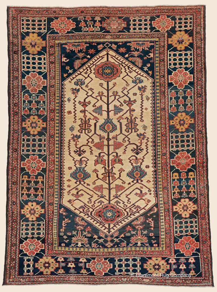 Guide To Antique Persian Bakhtiari Rugs Claremont Rug