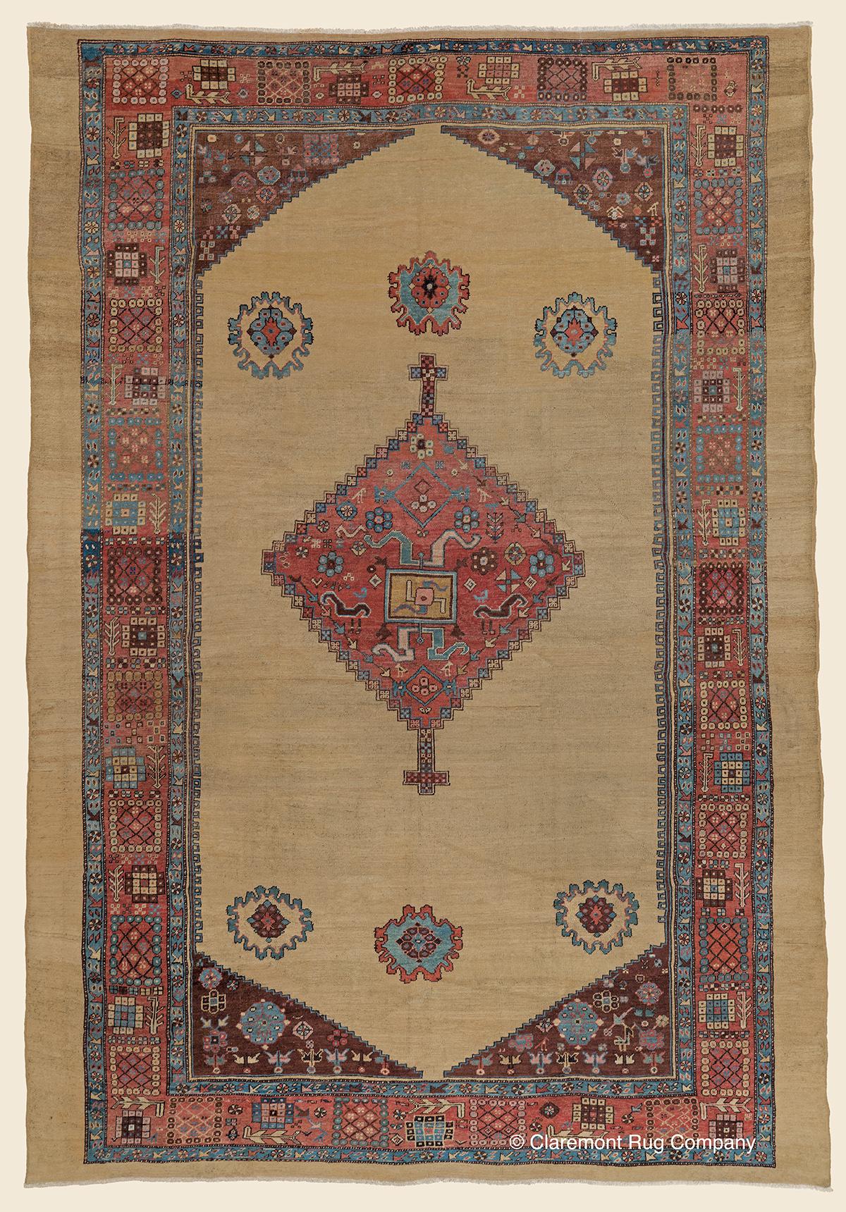 Antique-Persian-Rug-Bakshaish-Rug