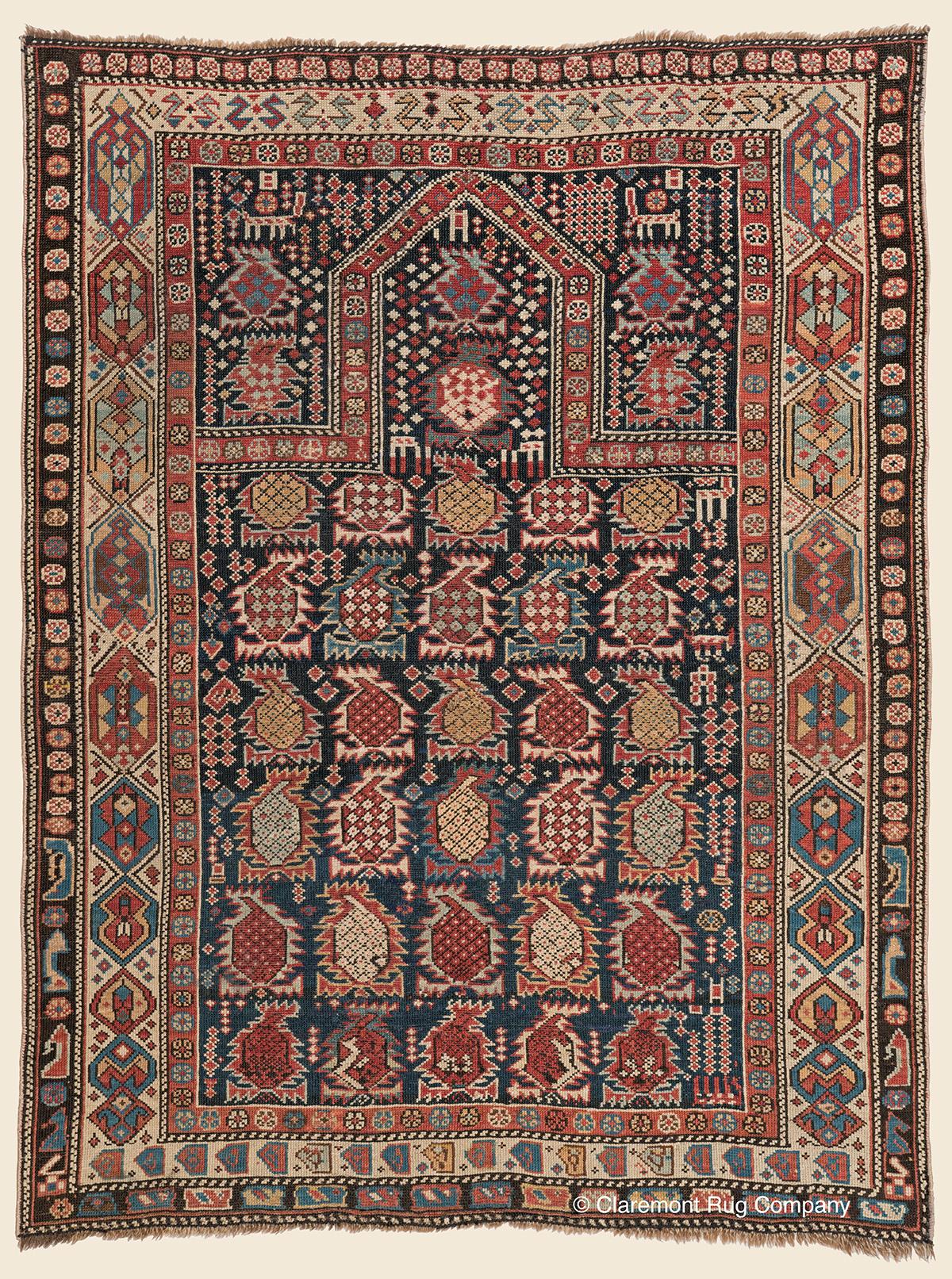 Antique-Persian-Rug-Caucasian-Shirvan-Rug