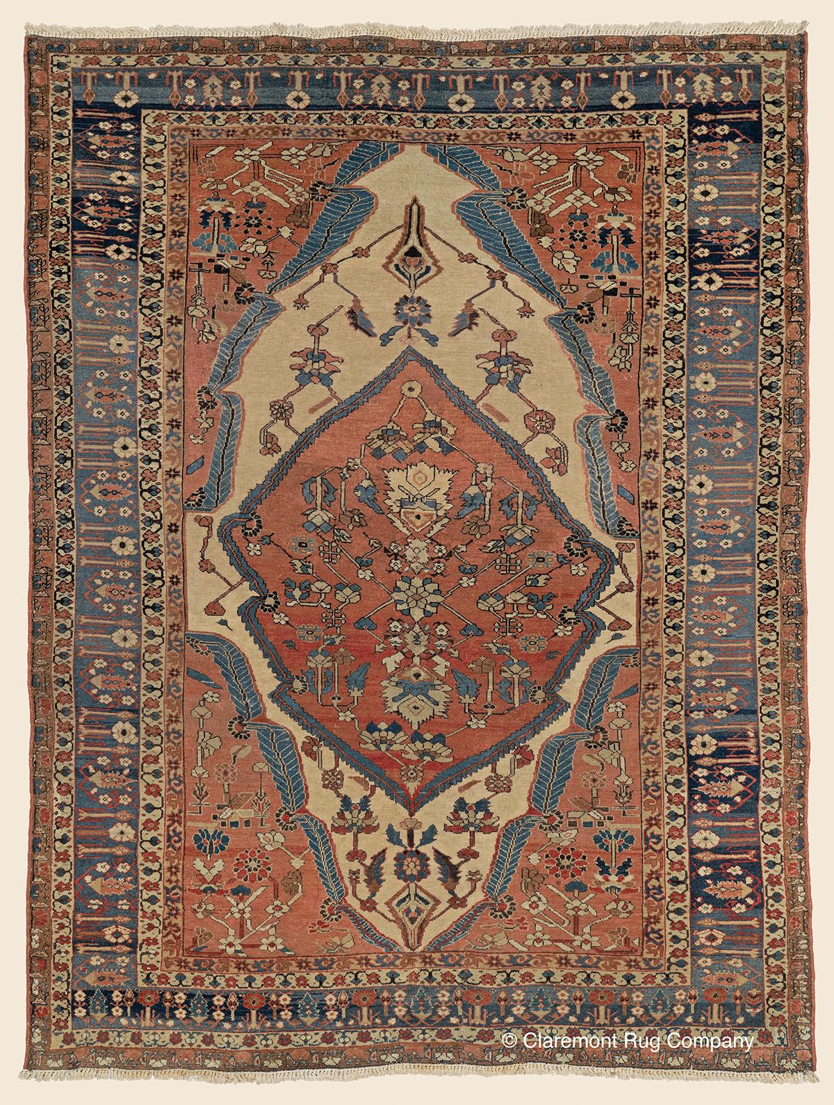 Antique-Persian-Rug-Ferahan-Rug