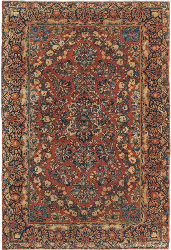 Click to learn more about this exquisite Mahajiran Sarouk