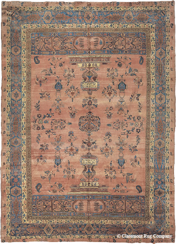 Antique Persian Sarouk, late 19th century