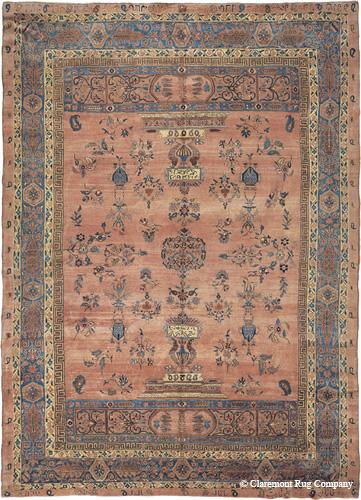 Antique Persian Sarouk, late 19th century