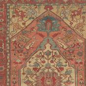 Antique Serapi, Northwest Persian, 7ft 10in X 12ft 6in, 3rd Quarter, 19th  Century