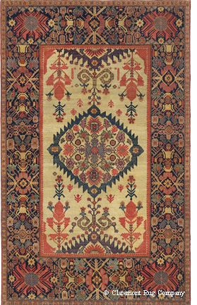 200 year old Persian Ferahan rug