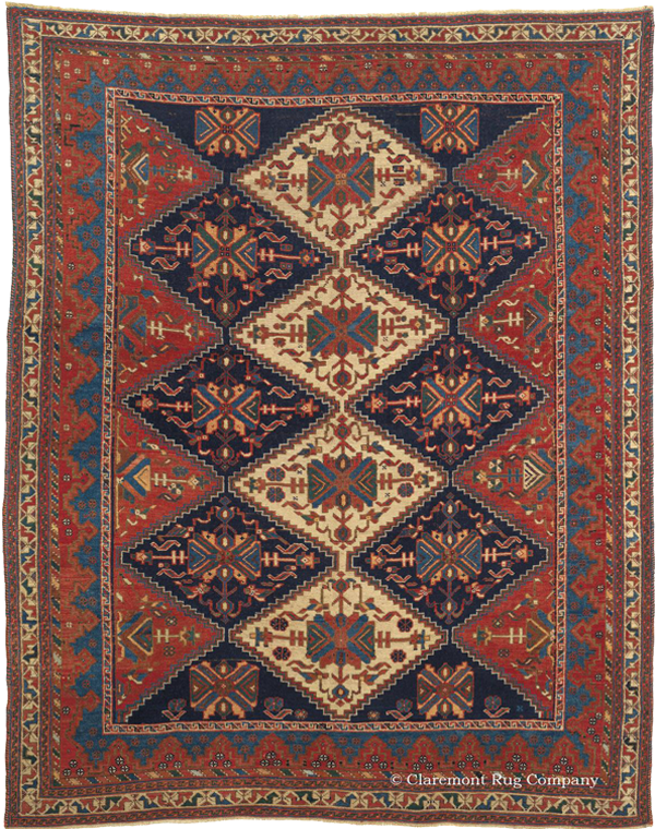 History Amp Artistic Design Of Antique Persian Afshar Rugs