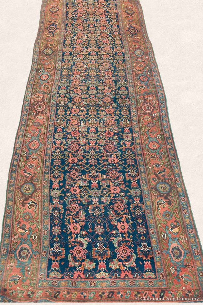 Beautiful Antique Bijar Persian Carpet