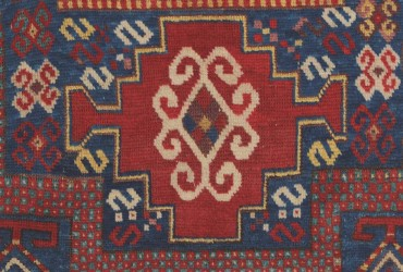 'S' motifs in a Karachov, late 19th century