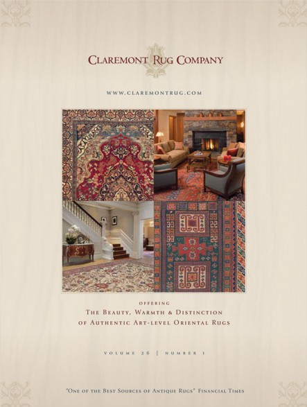 Antique Oriental & Persian Rug Decorating Brochure