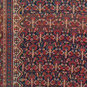 Detail of Tribal Afshar Antique rug