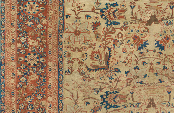 Image of PErsian Rug from Sultanabad