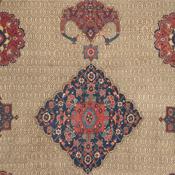 ANtique Serab Camelhair Rug Detail