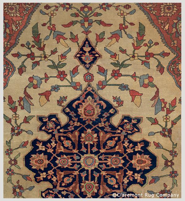 Persian Ferahan Sarouk circa1875, Connoisseur-Caliber.