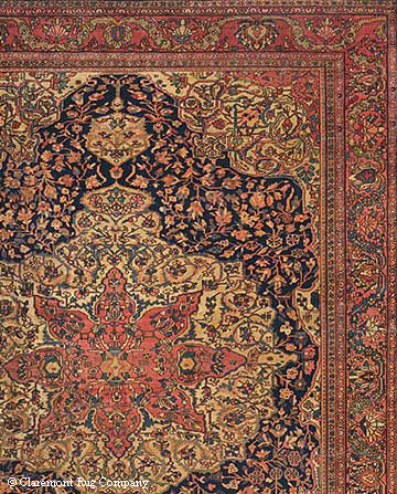 Detail of Ferahan Sarouk Rug