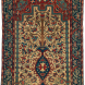 Antique Ferahan Sarouk Vase Rug 3ft 4in by 4ft 8in
