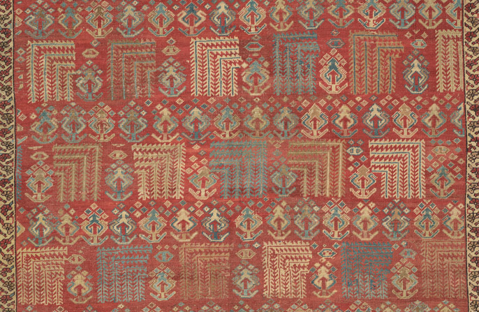 View Antique Bakshaish Rugs Online