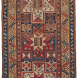 Antique Caucasian Oriental Collectible Gendje Rug 3ft 3in x 6ft 10 in